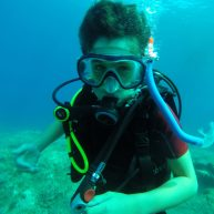PADI - Open Water A young diver
