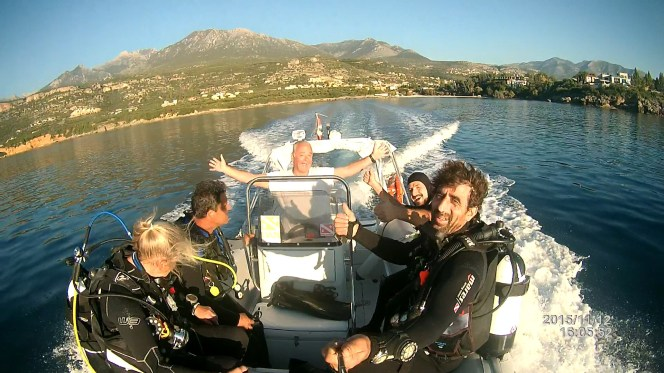 DIVE CODE: On the Mani Peninsula Greece